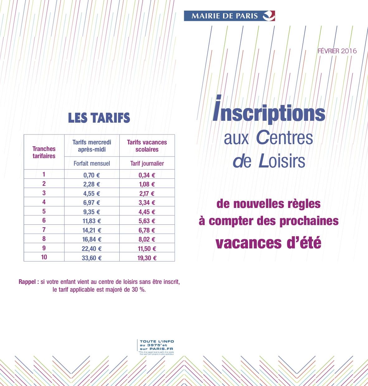 Vacances scolaires aip paris 14 association ind pendante des parents d 39 l ves depuis 1981 - Vacances scolaires 2016 paris ...